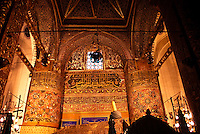 Mevlana was a famous sufi, founder of the whirling dervishes order. Here is his grave in its mausoleum in Konya.