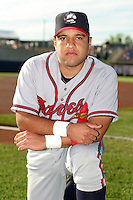 Rome Braves Max Ramirez before the South Atlantic League All-Star game at Classic Park on June 20, 2006 in Eastlake, Ohio.  (Mike Janes/Four Seam Images)