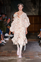 Simone Rocha<br /> Spring Summer 2022 Ready-to-Wear catwalk Fashion Show at London Fashion Week in September 2021<br /> CAP/GOL<br /> ©GOL/Capital Pictures