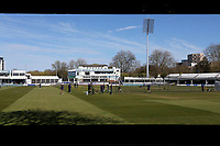 General view of the ground ahead of Essex CCC vs Durham CCC, LV Insurance County Championship Group 1 Cricket at The Cloudfm County Ground on 18th April 2021