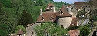 Europe/France/Midi-Pyrénées/46/Lot/Autoire: Vieilles demeures