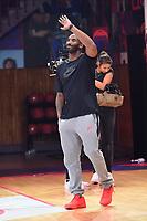 21st October 2017; Paris, France; Kobe Bryant, Los Angeles basketball star holds a training camp in Paris for kids;  Kobe Bryant