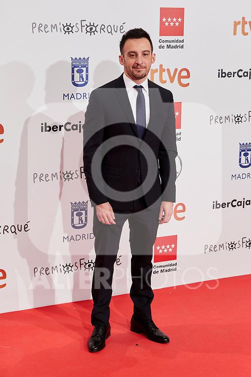 Alejandro Amenabar attends to XXV Forque Awards at Palacio Municipal de Congresos in Madrid, Spain. January 11, 2020. (ALTERPHOTOS/A. Perez Meca)