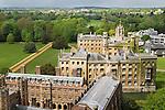 St Johns College,  Third Court, New Court, Cripps building Cambridge University.