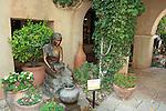 """Hopi Water Maiden"" by Susan Kliewer in Tlaquepaque Shopping Center, Sedona, Arizona."
