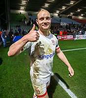 Friday 13th December 2019 | Harlequins vs Ulster Rugby<br /> <br /> Matt Faddes after the Heineken Champions Cup Round 4 clash in Pool 3, between Harlequins and Ulster Rugby and Harlequins at The Stoop, Twickenham, London, England. Photo by John Dickson / DICKSONDIGITAL