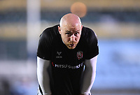 19th February 2021; Recreation Ground, Bath, Somerset, England; English Premiership Rugby, Bath versus Gloucester; Willi Heinz of Gloucester warms up