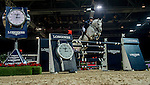 Olivier Philippaerts of Belgium rides Cabrio van de Heffinck in action during the Longines Grand Prix as part of the Longines Hong Kong Masters on 15 February 2015, at the Asia World Expo, outskirts Hong Kong, China. Photo by Victor Fraile / Power Sport Images