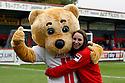 Boro Bear and Danii Burge<br />  - Stevenage v Rotherham United - Sky Bet League 1 - Lamex Stadium, Stevenage - 16th November, 2013<br />  © Kevin Coleman 2013