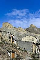 Burg in Sperlinga, Sizilien, Italien