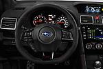 Car pictures of steering wheel view of a 2019 Subaru WRX STI Base 4 Door Sedan