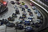 #03: Jake Griffin, Mike Affarano Motorsports, Chevrolet Silverado ClayneCrawfordFoundation.org, #88: Matt Crafton, ThorSport Racing, Ford F-150 Ideal Door/Menards, #27: Chase Briscoe, ThorSport Racing, Ford F-150 DiaEdge nod #51: Christian Eckes, Kyle Busch Motorsports, Toyota Tundra Mobil 1 4 wide salute