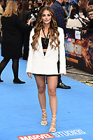 """Coutney Green<br /> arriving for the """"Shang-Chi And The Legend Of The Ten Rings"""" premiere at Curzon Mayfair, London<br /> <br /> ©Ash Knotek  D3570  26/08/2021"""