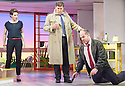 Woman On The Verge of A Nervous Breakdown The Musical. Based on the movie by Pedro Almodovar. Music and Lyrics by David Yazbek,Book by Jeffrey Lane, directed by Bartlett Sher. With Tamsin Greig as Pepa Marco, Dale Rapley, Michael Matus. Opens at The Playhouse Theatre on 12/1/15. CREDIT Geraint Lewis