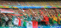 Mexican Fans as Teams enter the Stadium Before Kick Off