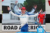 Winner #10: Alex Palou, Chip Ganassi Racing Honda,  podium