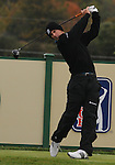 4 October 2008: Charles Howell III watches a tee shot during the third round at the Turning Stone Golf Championship in Verona, New York.