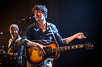 Patrice Michaud  perform at <br /> the  Festival en Chanson of Petite-Vallee in Gaspesia on July 3rd, 2014.<br /> <br /> Photo : Agence Quebec Presse  - Frederic Seguin