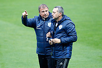 Israel's coach Elisha Levy with his assistant during training session. March 23,2017.(ALTERPHOTOS/Acero) /NortePhoto.com