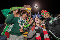 Columbus, Ohio - Friday, November 11, 2016: Fans during a USMNT vs Mexico WCQ at Mapfre Stadium. Mexico defeated the USA 2-1.