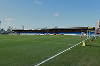 General view of the ground ahead of  AFC Wimbledon vs Fleetwood Town, Sky Bet EFL League 1 Football at the Cherry Red Records Stadium on 8th February 2020
