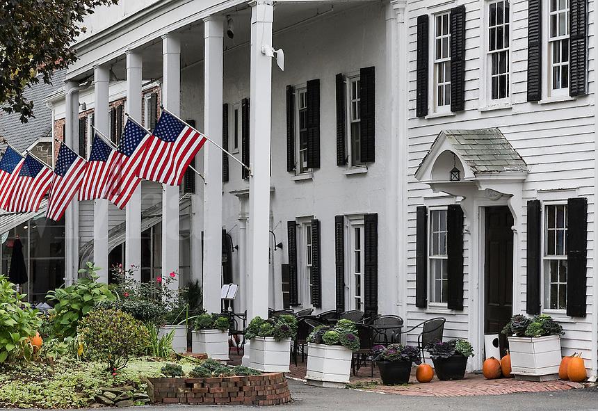 The Beekman Arms Inn, oldest inn in America, Rhinebeck, New York, USA
