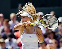 28-6-08, England, Wimbledon, Tennis,  Caroline Wozniacki