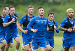 St Johnstone Training….29.06.19   McDiarmid Park, Perth<br />Michael O'Halloran pictured during a training run<br />Picture by Graeme Hart.<br />Copyright Perthshire Picture Agency<br />Tel: 01738 623350  Mobile: 07990 594431