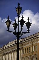 San Pietroburgo. lampione
