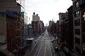 April 21, 2020<br /> New York, New York<br /> <br /> Lower east side Manhattan during the height of the coronavirus pandemic.