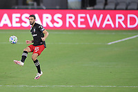 WASHINGTON, DC - AUGUST 25: Steven Birnbaum #15 of D.C. United plays the ball during a game between New England Revolution and D.C. United at Audi Field on August 25, 2020 in Washington, DC.
