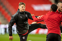 1st October 2021;  Bet365 Stadium, Stoke, Staffordshire, England; EFL Championship football, Stoke City versus West Bromwich Albion; Conot Townsend of West Bromwich Albion during the warm up
