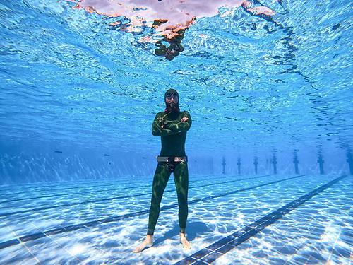 Mullingar freediver Dave McGowan