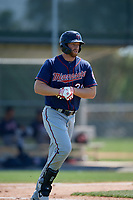 Minnesota Twins Gabe Snyder (30) during a Minor League Spring Training game against the Baltimore Orioles on March 25, 2019 at the Buck O'Neil Baseball Complex in Sarasota, Florida.  (Mike Janes/Four Seam Images)