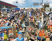 Lori, LANDSCAPES, LANDSCHAFTEN, PAISAJES, paintings+++++Flea Market_Finished,USLS191,#l#, EVERYDAY ,puzzle,puzzles