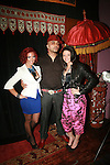 Kathy N, Adrian Alicea and Nikki Graffiti attend the Adrian Alicea Haute Couture Show Held at The National Black Theater 2/17/11