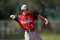 Chase Engelhard during the WWBA World Championship at the Roger Dean Complex on October 20, 2018 in Jupiter, Florida.  Chase Engelhard is a shortstop from Atlanta, Georgia who attends Riverwood High School and is committed to Tulane.  (Mike Janes/Four Seam Images)
