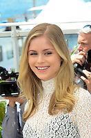 Erin Moriarty attend the 'Blood Father' photocall during the 69th annual Cannes Film Festival at Palais des Festivals on May 21, 2016 in Cannes, France.