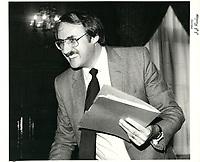 Guy Tardif le 25 novembre 1980<br /> <br /> <br /> PHOTO :  Agence Quebec Presse