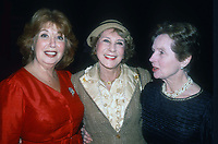 Beverly Sills Arlene Francis Jane Wyatt 1982<br /> Photo By Adam Scull/PHOTOlink.net