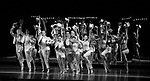 """The Cast during Curtain Call for the New York City Center Celebrates 75 Years with a Gala Performance of """"A Chorus Line"""" at the City Center on November 14, 2018 in New York City."""