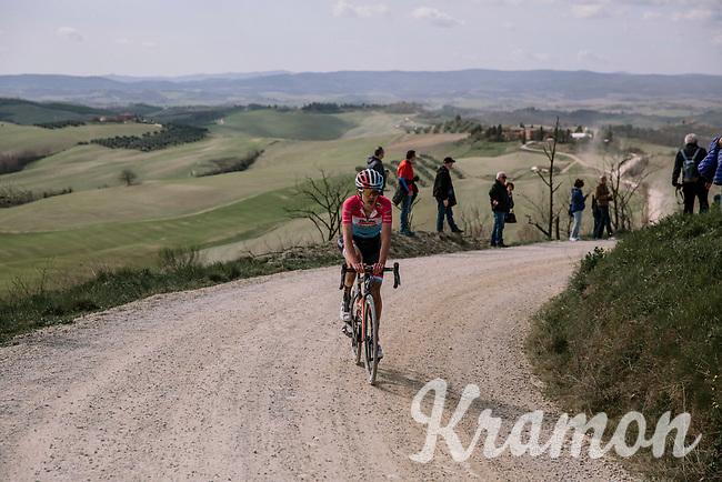 Christine Majerus (LUX/Boels - Dolmans)<br /> <br /> 5th Strade Bianche WE (1.WWT)<br /> One day race from Siena to Siena (136km)<br /> <br /> ©JojoHarper for kramon