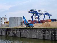 Osthafen in Frankfurt, Hessen, Europa<br /> East port in Frankfurt, Germany, Europe