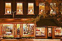 Bookstore, Woodstock, Vermont, USA