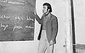 Iraq 1976 <br /> District of Berwari Bala, in the village of Babir, Nechirvan Ahmed, teacher   <br /> Irak 1976 <br /> Region de Berwari Bala, dans le village de Babir, Nechirvan Ahmed, instituteur