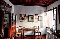 The house of Alexandros Papadiamantis in the Chora of Skiathos island, Greece