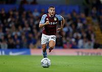 22nd September 2021; Stamford Bridge, Chelsea, London, England; EFL Cup football, Chelsea versus Aston Villa; Emi Buendia of Aston Villa