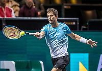 Rotterdam, The Netherlands, 15 Februari 2020, ABNAMRO World Tennis Tournament, Ahoy, Pablo Carreno Busta (ESP), <br /> Photo: www.tennisimages.com