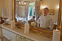 Europe/France/Aquitaine/40/Landes/Magescq: Restaurant: Côté Quillier- Auberge Coussau [Non destiné à un usage publicitaire - Not intended for an advertising use]