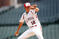 August 8, 2009:  Pitcher Kevin Gausman (12) of Team One during the Under Armour All-America event at Wrigley Field in Chicago, IL.  (Mike Janes/Four Seam Images)